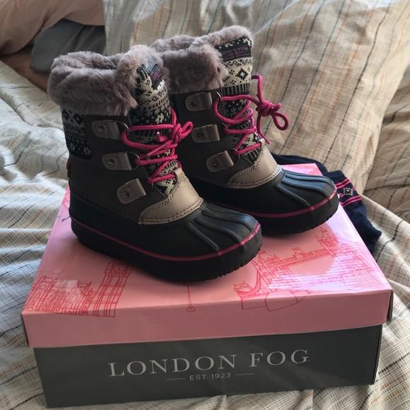 London Fog Shoes   Nwb Girls Winter